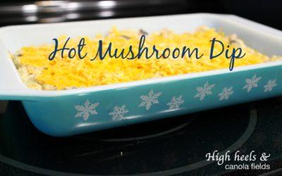 Hot Mushroom Dip