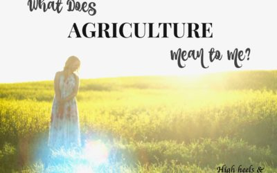 What Does Agriculture Mean to Me?